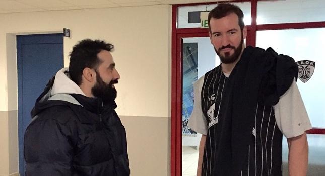 Επέστρεψε (ξανά) στον ΠΑΟΚ ο Χαριτόπουλος