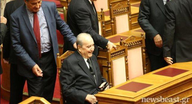 Στη Βουλή ο Κωνσταντίνος Μητσοτάκης