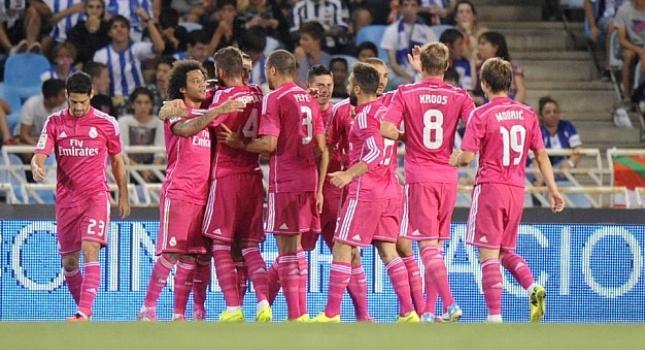 Η… ροζ Ρεάλ Μαδρίτης