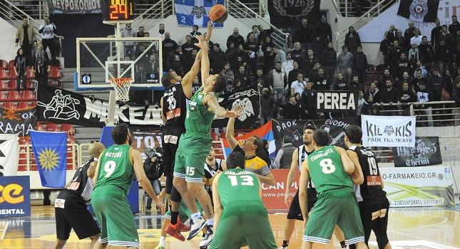 ΠΑΟΚ-Παναθηναϊκός 68-71 (Τελικό)