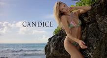 Κάντις Σουάνπολ: Το «αγγελάκι» τόπλες στην παραλία