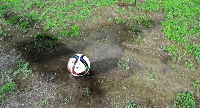 Εργασίες στο... πολυσυζητημένο γήπεδο του Πανθρακικού