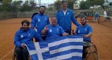 Κορυφή για το ελληνικό τένις με αμαξίδιο