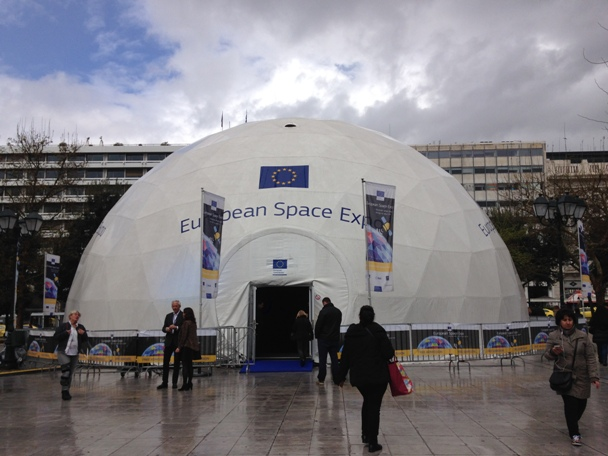 Ρεκόρ επισκεπτών στην Ευρωπαϊκή Έκθεση Διαστήματος της Αθήνας