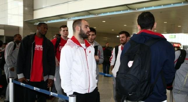 Έφτασε Βαρκελώνη ο Ολυμπιακός