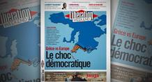 Liberation: «Ελλάδα εναντίον Ευρώπης - Το δημοκρατικό σοκ»