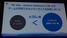 Περισσότερη μνήμη στο PS Vita με το 3.50 firmware