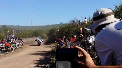 Ατύχημα με τραυματίες στο Ράλι Αργεντινής (video)