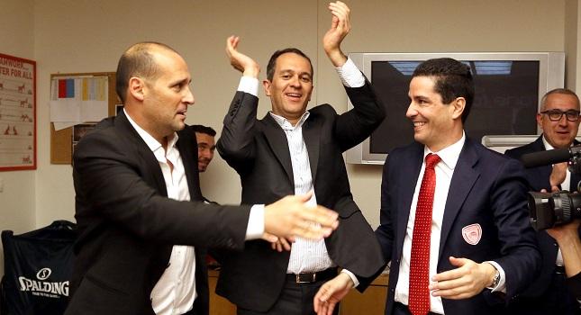 Αγγελόπουλος: «Μάξιμουμ χίλιοι Ολυμπιακοί στη Μαδρίτη»
