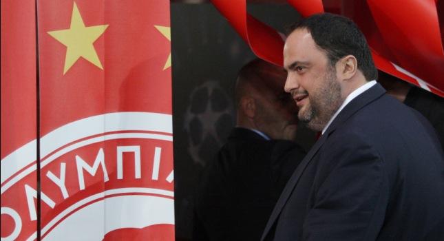 Μαρινάκης: «Το όραμά μου για τον Ολυμπιακό ξεφεύγει από την Ελλάδα»