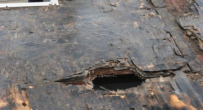 Εικόνες καταστροφής στο ΟΑΚΑ