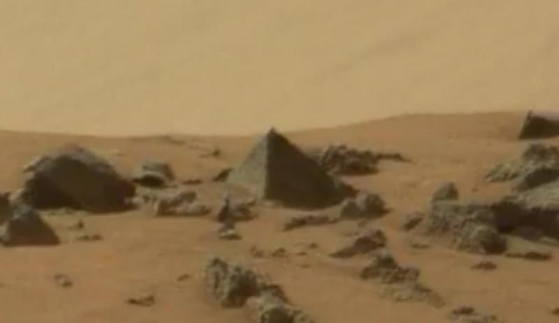 Βρέθηκε πυραμίδα στον Άρη! (video)