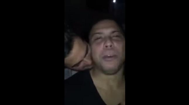 Άντρας φιλάει και δαγκώνει τον Ρονάλντο (video)