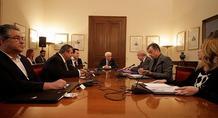 Τι συζητούσαν Τσίπρας και αρχηγοί επί επτά ώρες στο Προεδρικό