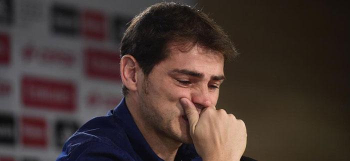 Συγκλόνισε με το κλάμα του ο Κασίγιας (video)