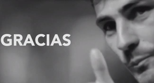 Το φοβερό βίντεο του Κασίγιας για το «αντίο» του (video)