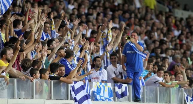 «Παράσημο» στους Έλληνες φιλάθλους