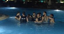 Πάρτι στην πισίνα για τους χρυσούς Έφηβους (video/pic)
