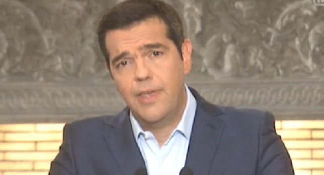 Ανακοίνωσε εκλογές ο Τσίπρας