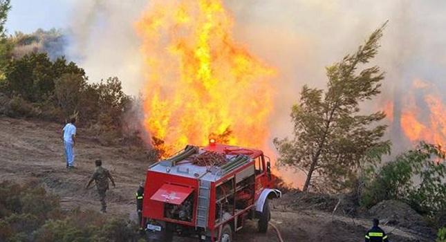 Πυρκαγιά σε εξέλιξη στο Ξυλόκαστρο