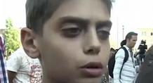 «Σταματήστε τον πόλεμο κι εμείς δε θέλουμε να πάμε στην Ευρώπη», λέει αγοράκι από τη Συρία