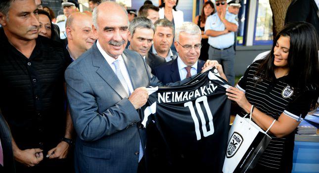 Και ο... Νεϊμαράκης στον ΠΑΟΚ!