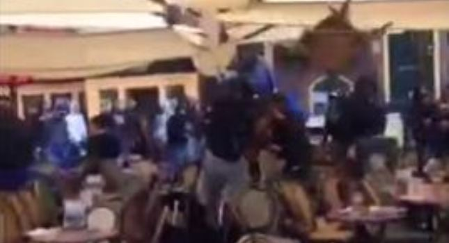 Οπαδοί της Μαρσέιγ διαλύουν καφετέρια στο Χρόνινχεν! (video)
