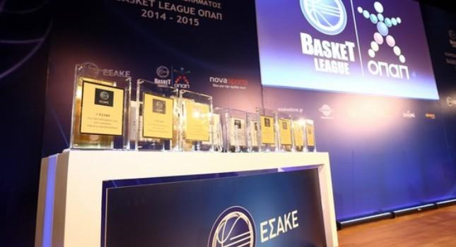 Κληρώνει και… βραβεύει η Basket League