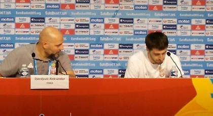 Τζόρτζεβιτς: «Υπάρχουν πολλοί λόγοι που δεν πήραμε μετάλλιο»