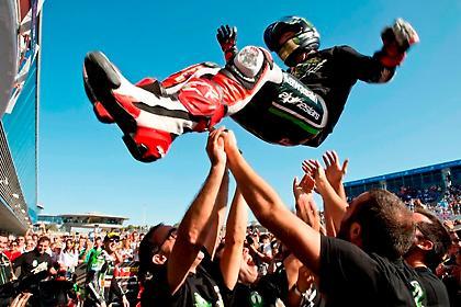 Ο Jonathan Rea παγκόσμιος πρωταθλητής SBK με την Kawasaki