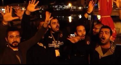 Τούρκοι τραγουδούν «Ελλάς ολέ ολέ» (video)