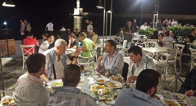 Ήταν και η ΑΕΚ στο δείπνο (pics)