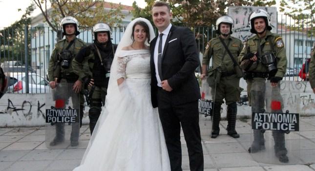Από τον γάμο, στην Τούμπα! (pics)