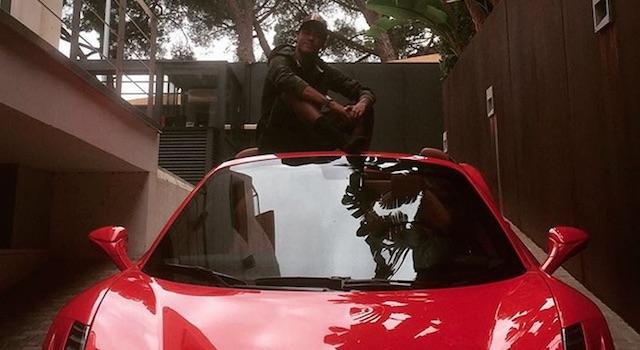 Σίφουνας με τη Ferrari ο Νεϊμάρ  (video)