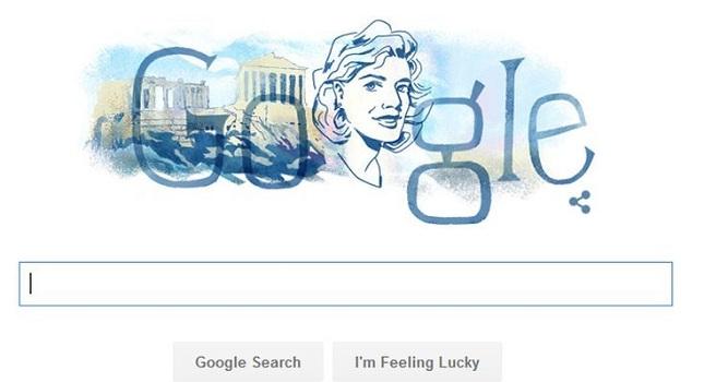Η Google τιμά τη Μελίνα Μερκούρη (vids)