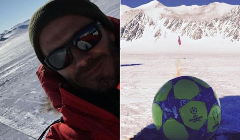 Στην Ανταρκτική ο Μπέκαμ! (pics)
