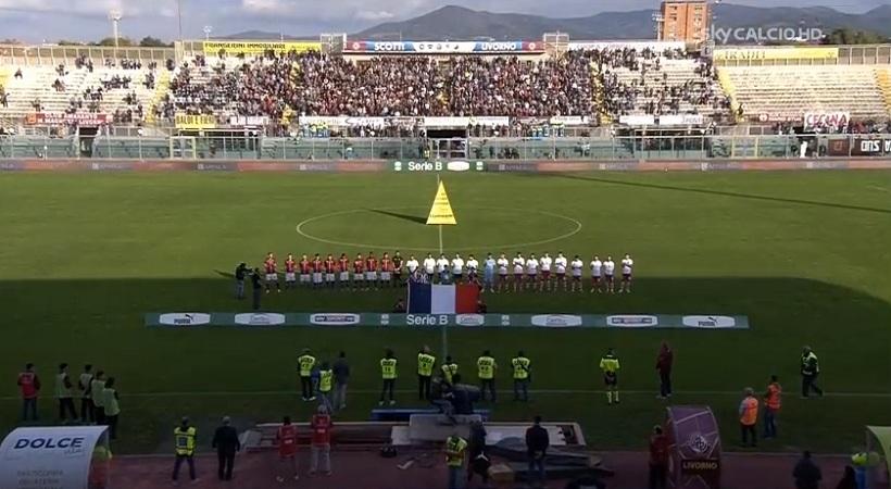 Έπαιξαν τον Ύμνο της Γαλλίας πριν το Λιβόρνο-Βιτσέντσα (video)