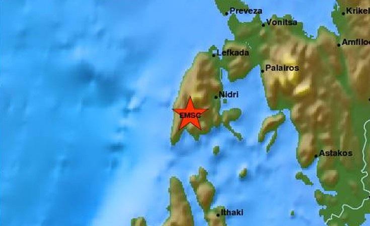 Ισχυρή σεισμική δόνηση στη Λευκάδα, έγινε αισθητή και στην Αθήνα!