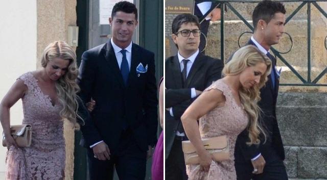 Ζευγάρι με την κόρη του ατζέντη του ο Ρονάλντο! (pics)