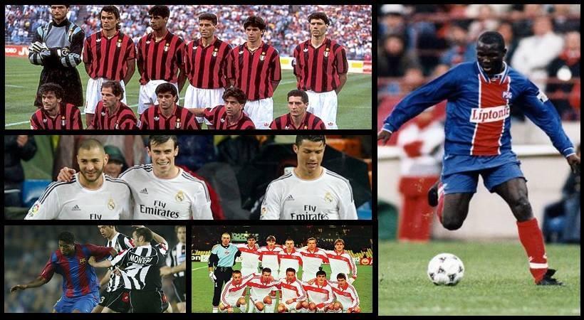 Οι «οδοστρωτήρες» του Champions League