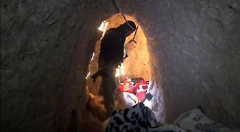 Μέσα στα τούνελ των τζιχαντιστών -Κρύβονται από επιθέσεις, διαβάζουν το Κοράνι και φτιάχνουν βόμβες