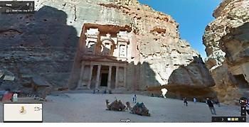 Ανακαλύψτε  την Ιορδανία στο Google Maps με τη βασίλισσά της (video)