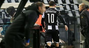Έφυγε απ' το γήπεδο ο Μπερμπάτοφ!