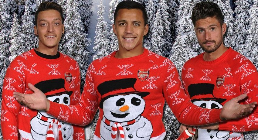 """Ho-ho-ho Arsenal!"""