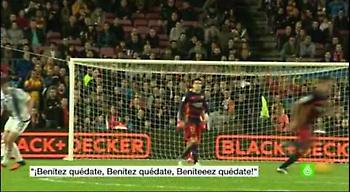 Οι οπαδοί της Μπαρτσελόνα τρολάρουν Ρεάλ και Μπενίτεθ! (video)