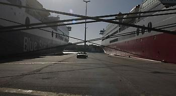 Δεμένα τα πλοία στη γενική απεργία της Πέμπτης