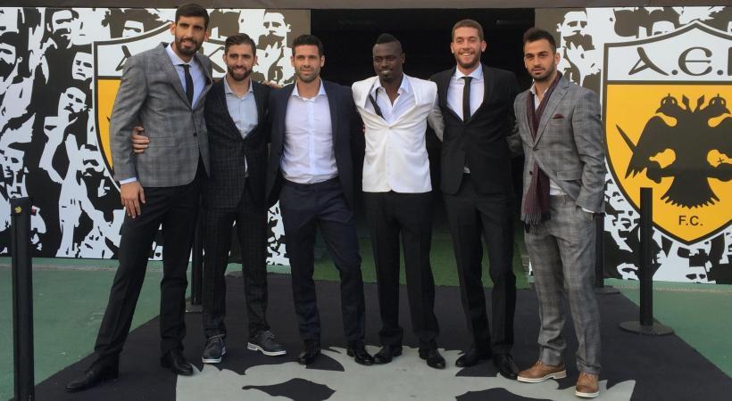 Οι παίκτες της ΑΕΚ… φιγουρίνια! (pics)