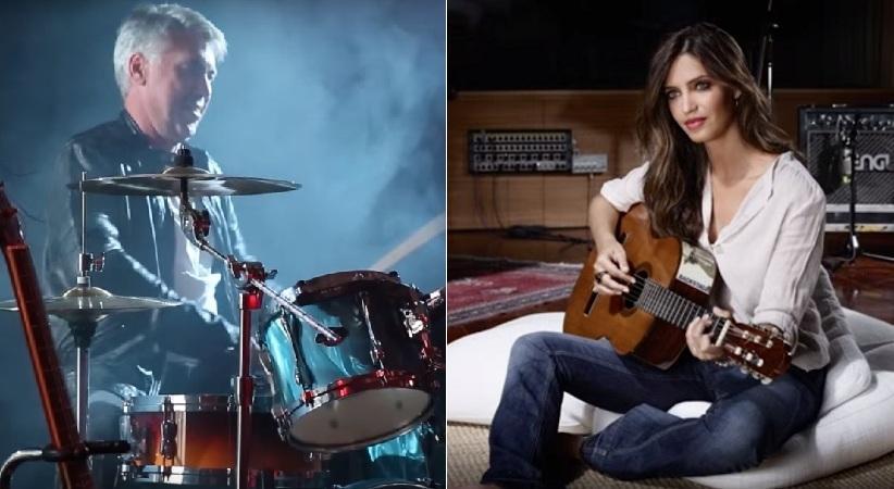 Ο Αντσελότι ντράμερ, η Καρμπονέρο κιθαρίστας (video)