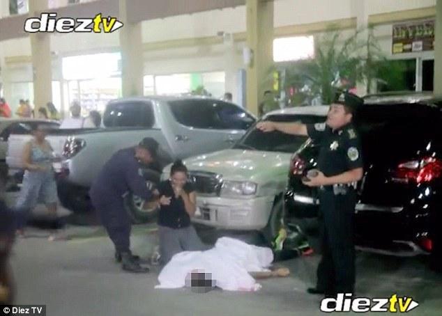 Συγκλονιστικό βίντεο από τον τόπο της δολοφονίας του ποδοσφαιριστή