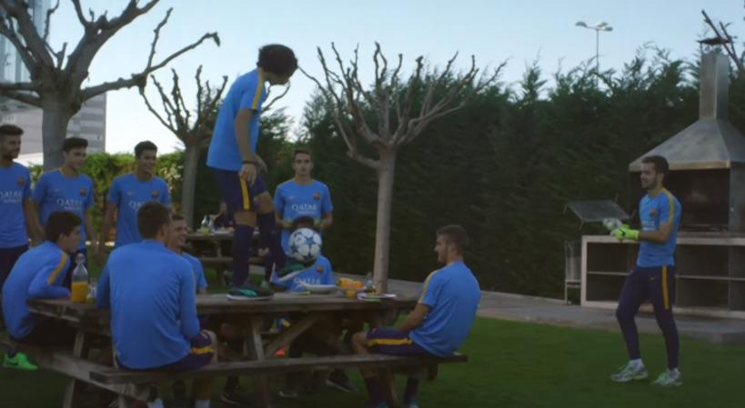 Το διαφορετικό πικ – νικ της Μπάρτσα (video)